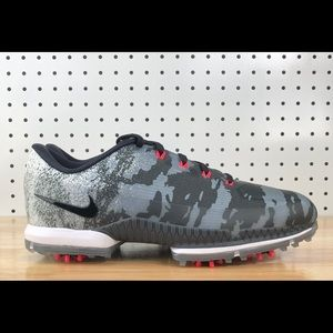 Nike Air Zoom Attack FW Mens Golf Shoes Gray Camo